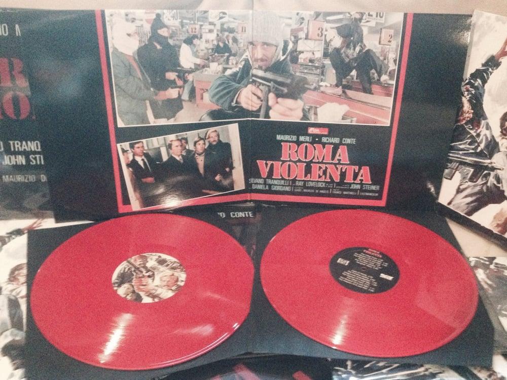 Guido & Maurizio De Angelis - Roma Violenta - 2xLp - Red Ultd