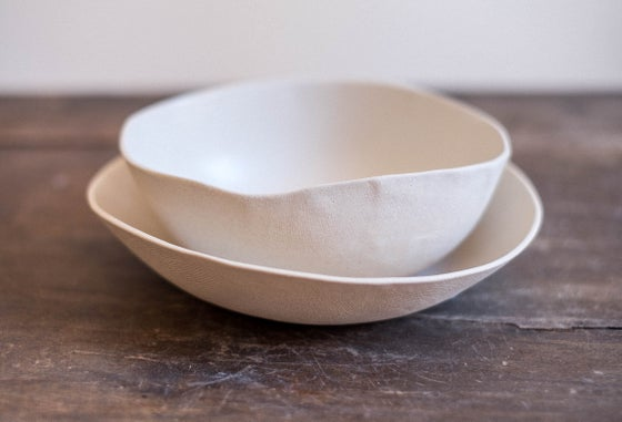 Image of Set desayuno crema liso