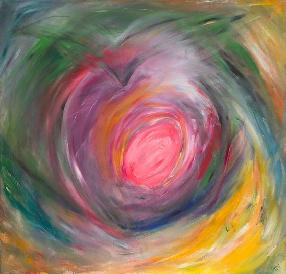 Image of Serene Heart Print