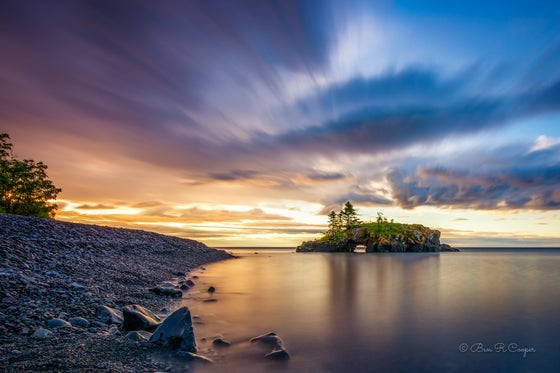 Image of Early Morning at Hollow Rock