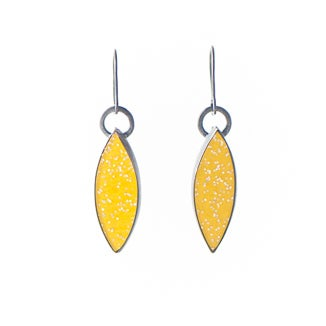 Image of Yellow Marquis Earrings