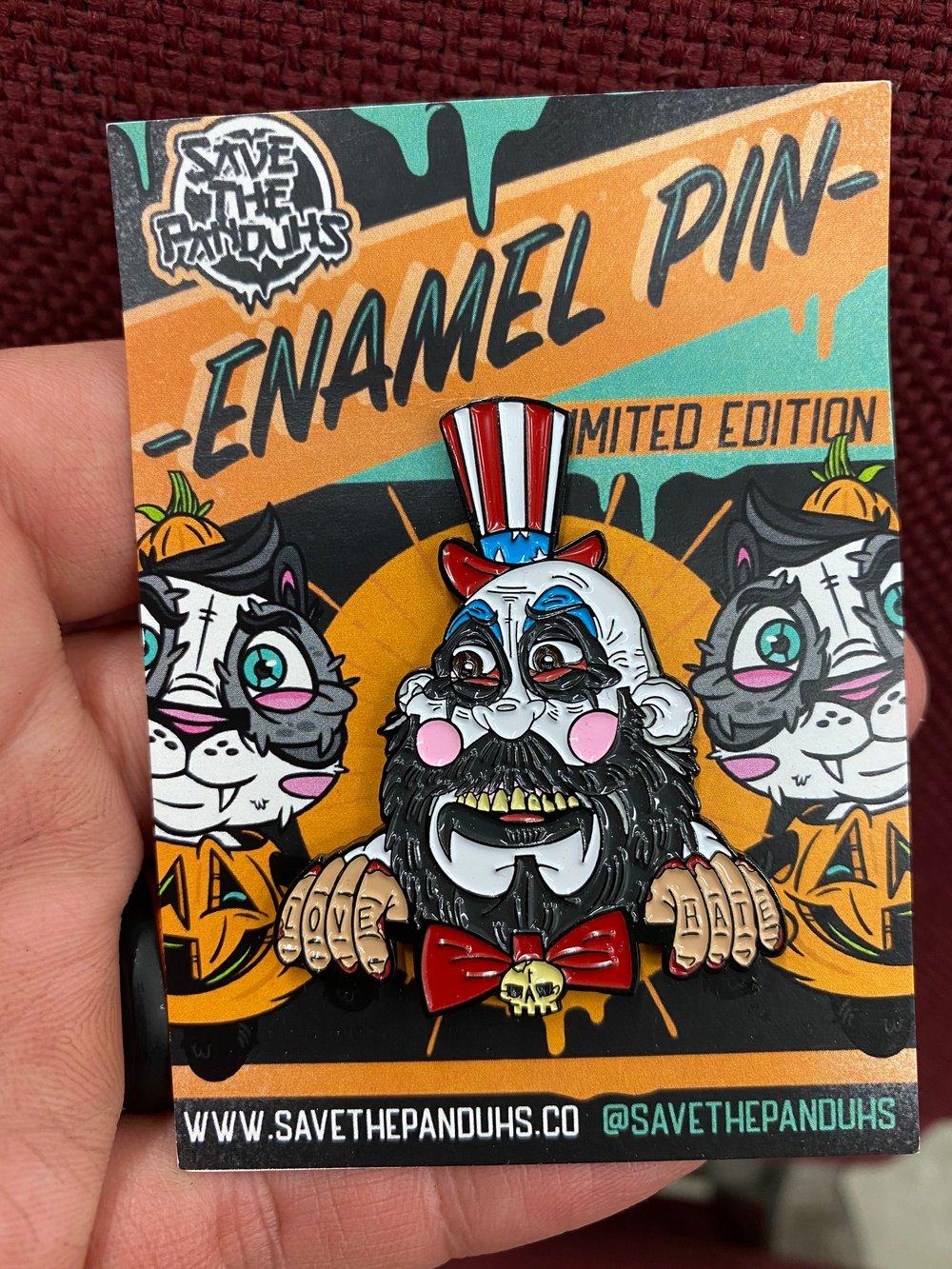"""Spaulding 2"""" Enamel Pin"""