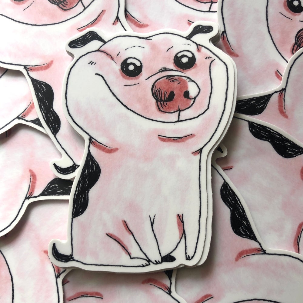 Image of Cursed Doggy 1 Sticker
