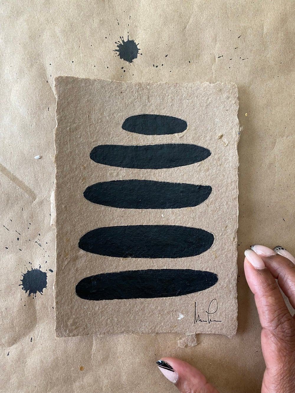 Image of ML• Brown Handmade Paper Collection (2)