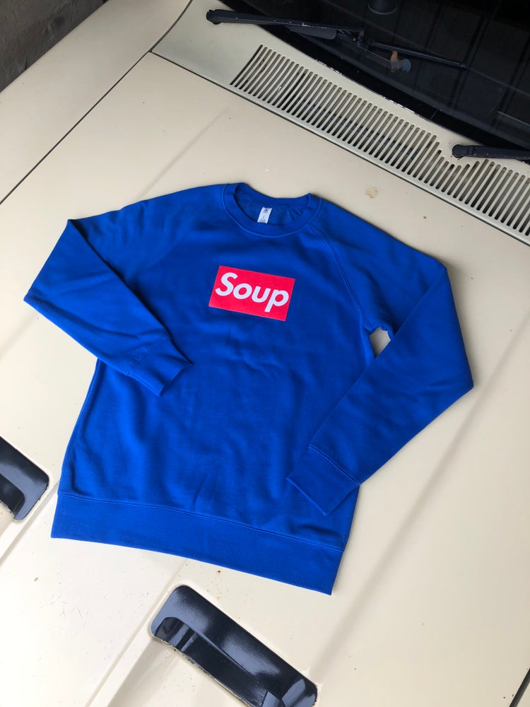 Image of SOUP crew neck sweater by Inny