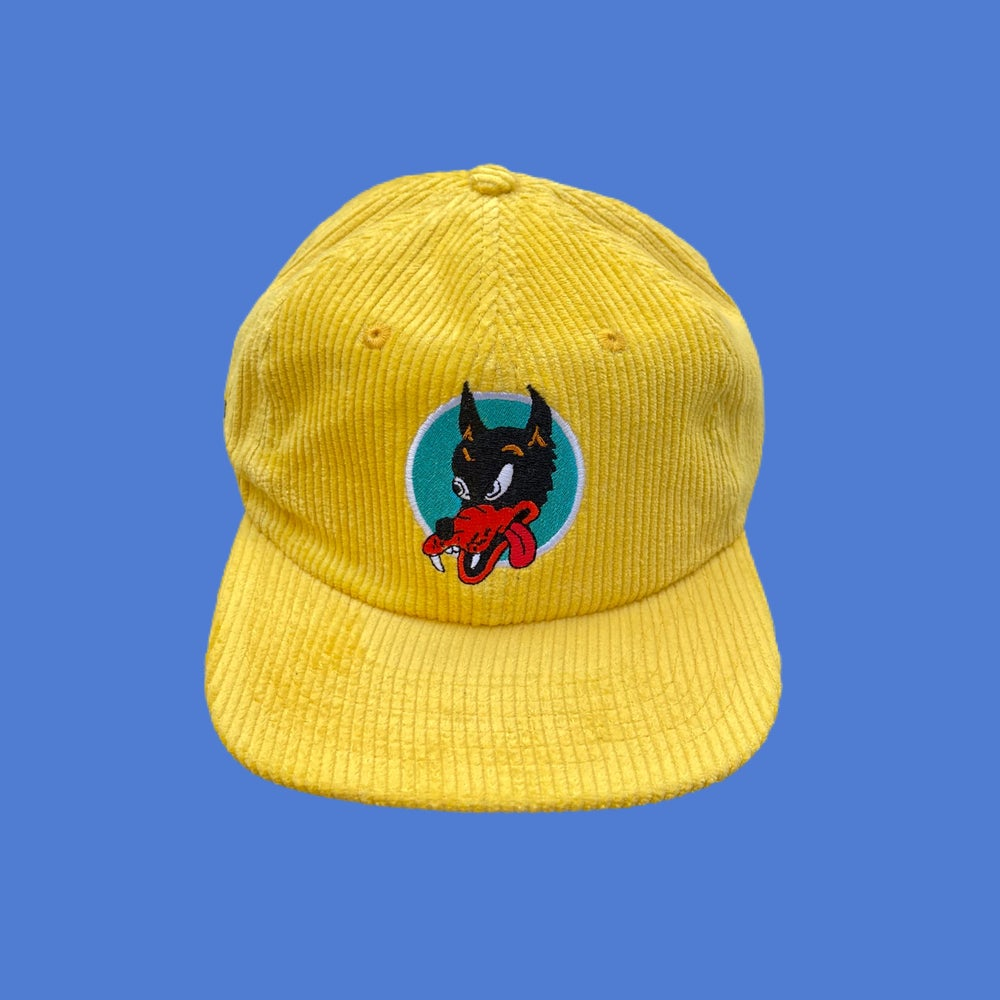 Image of NEW Wolf Corduroy Snapback Hat!!