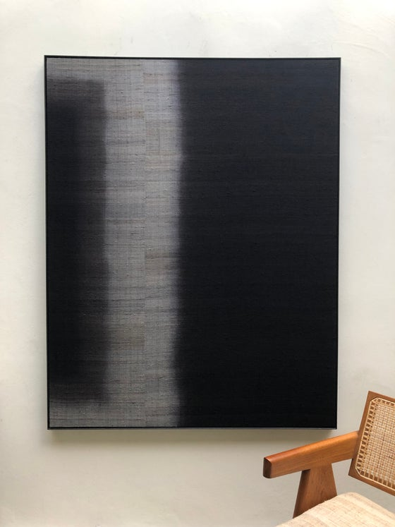 Image of large silk abstract