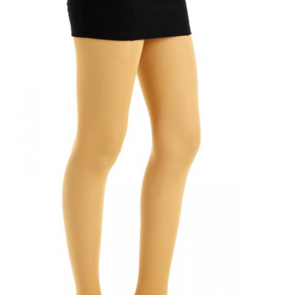 Mustard Opaque Tights with Free Postage