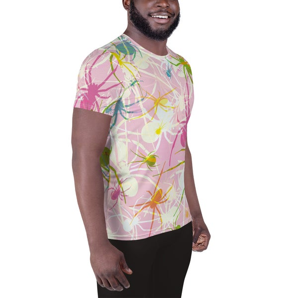 Image of Pink Widows Relaxed Fit Athletic T-shirt
