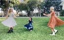 Image 2 of Baby/Girls • Navy Blue Tie dye • Twirly Dress