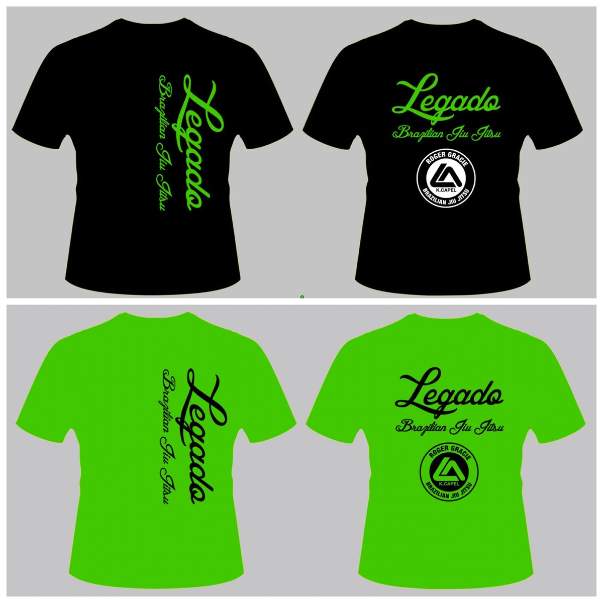 "Image of Legado ""Mean Green"" T-Shirt, Hoodies and Patches"