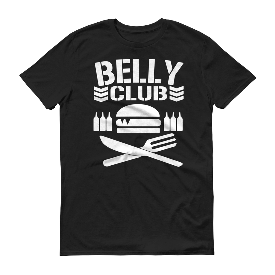 Image of BELLY CLUB TEE (BLACK EDITION)