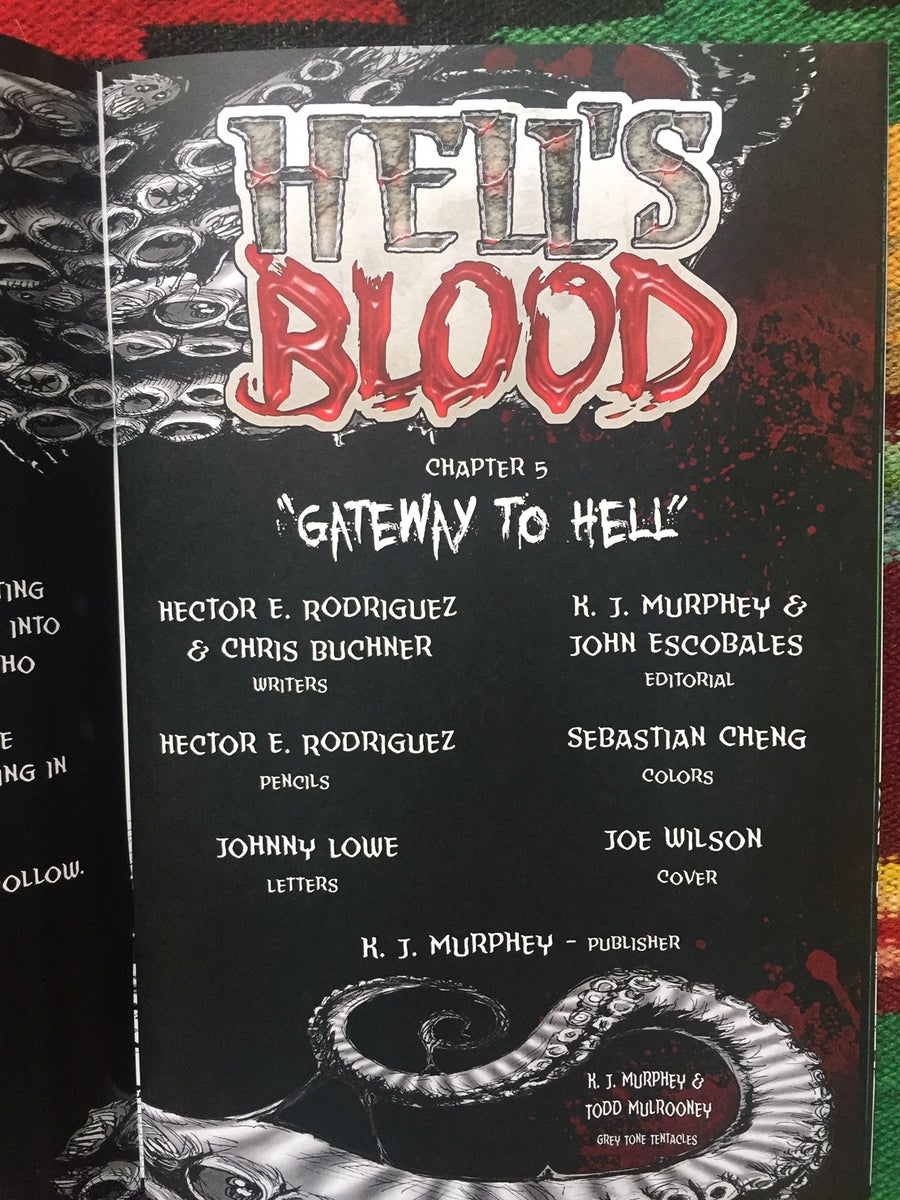 Image of HELL'S BLOOD #5