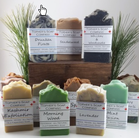 Image of Topher's Old Fashionsed Rustic Premium soaps - 3 pack (incl shipping Can & US)