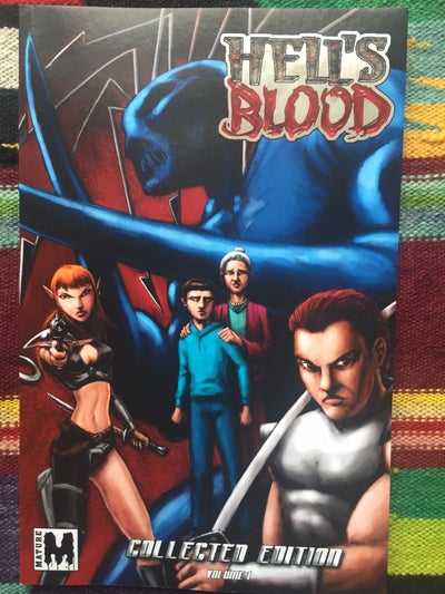 Image of HELL'S BLOOD TRADE PAPERBACK