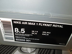 "Image of Air Max 1 Flyknit Royal ""Arthur Huang"""