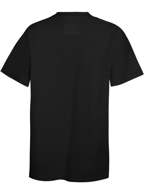 Image of Legendary American Patch Tee all black