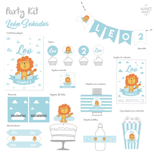 Image of Party Kit León Soñador