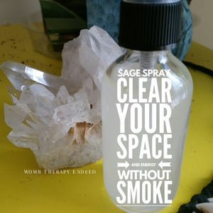 Image of Sage Spray| Clear Your Energy Without Smoke