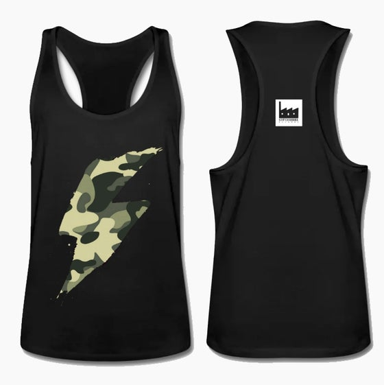 Image of K-FLASH (MAN TANK TOP CAMOUFLAGE)