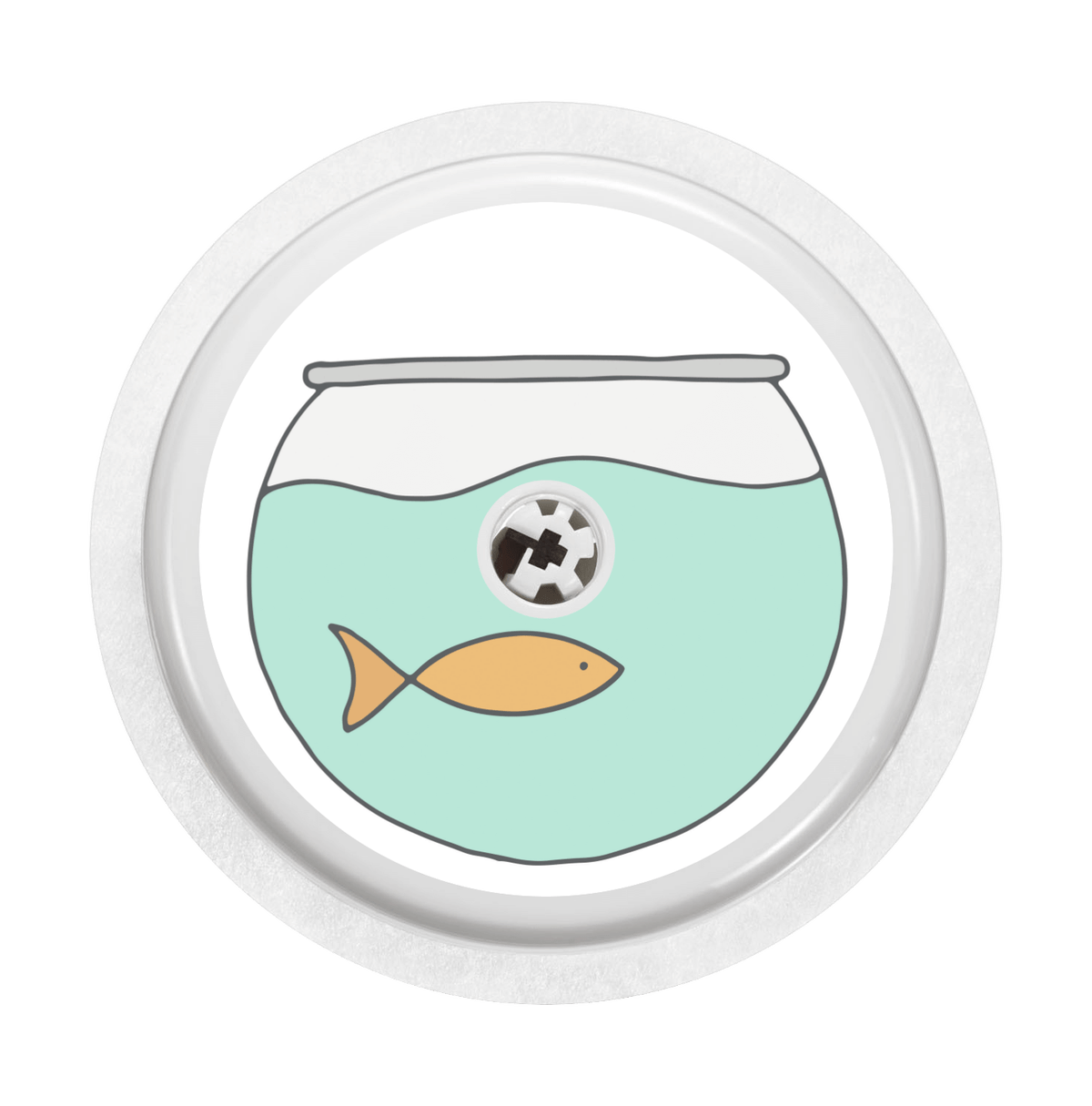 Image of Fishbowl Freestyle Libre Sticker