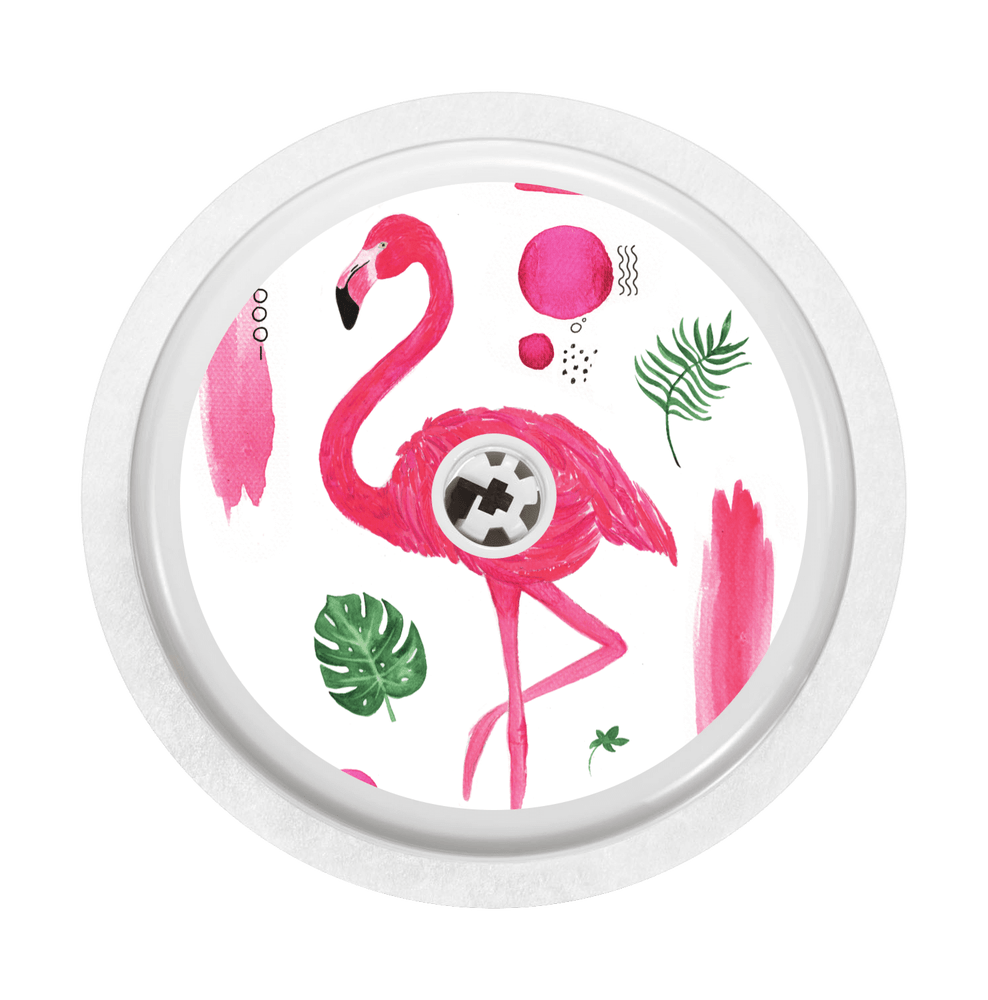 Image of Flamingo Freestyle Libre Sticker
