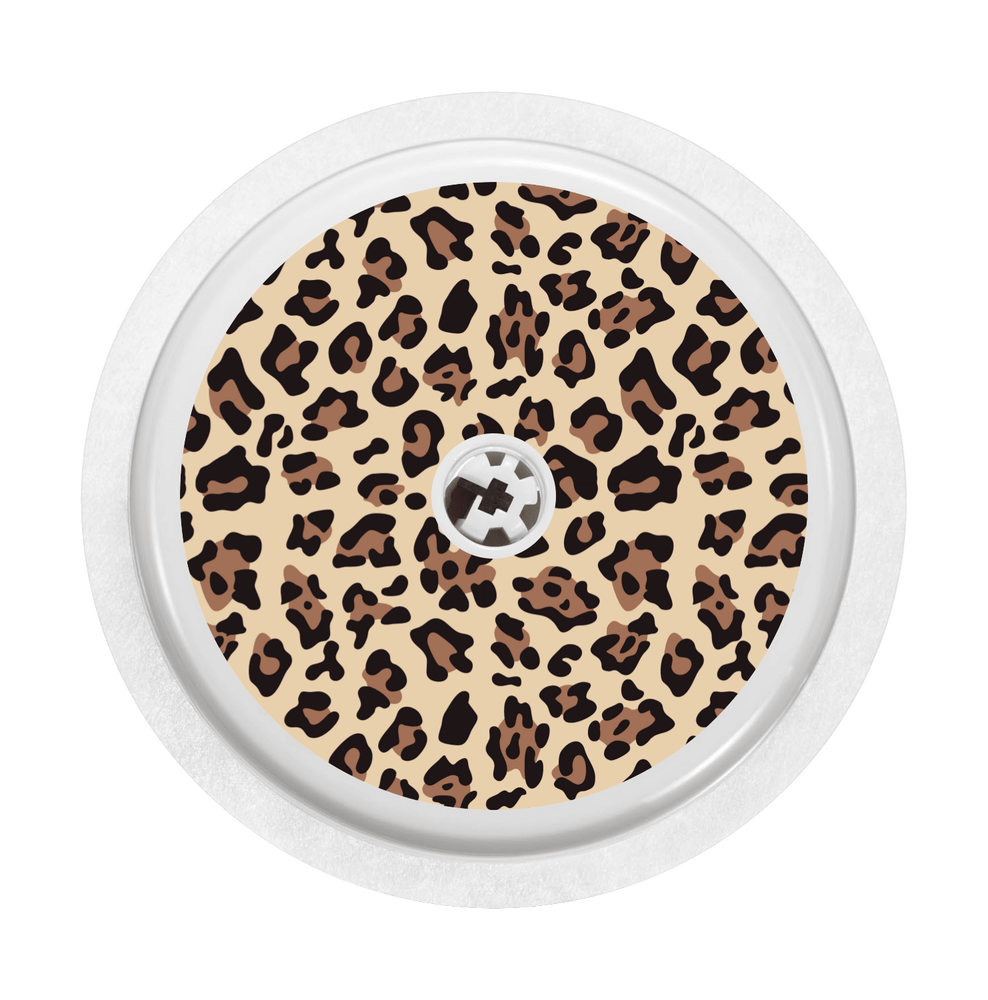 Image of Leopard Freestyle Libre Sticker