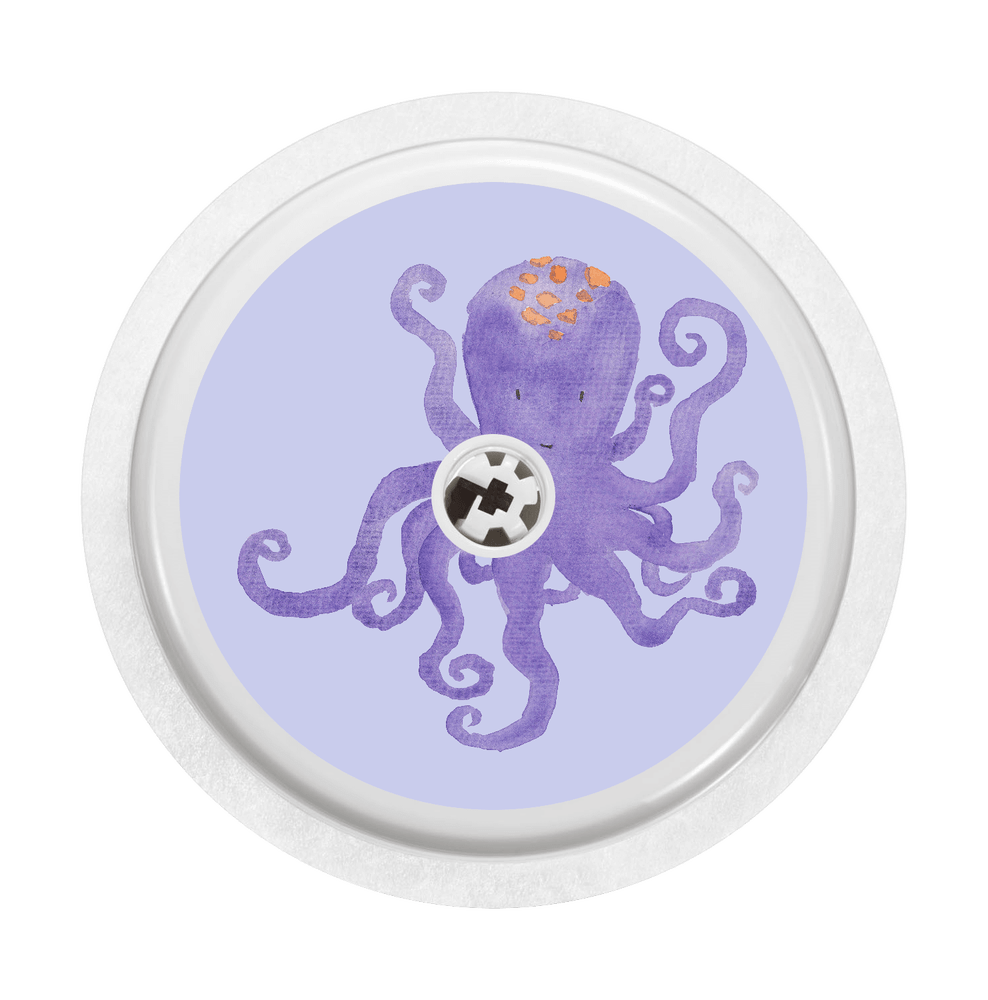 Image of Octopus Freestyle Libre Sticker