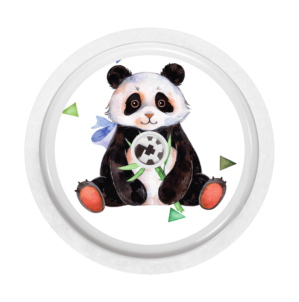 Image of Panda Freestyle Libre Sticker