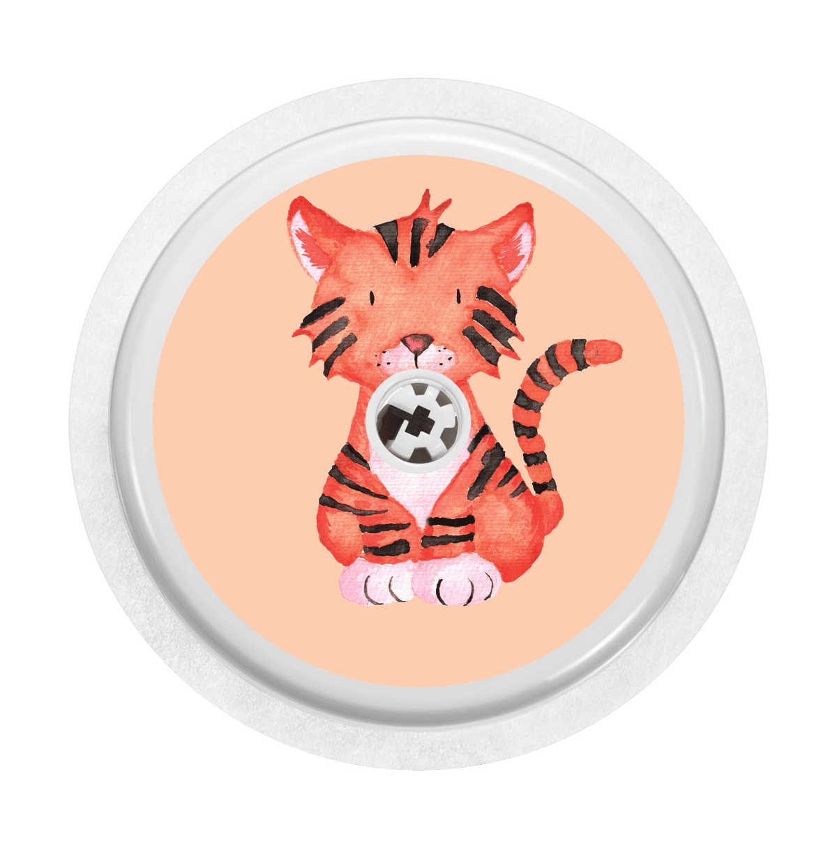 Image of Tiger Freestyle Libre Sticker