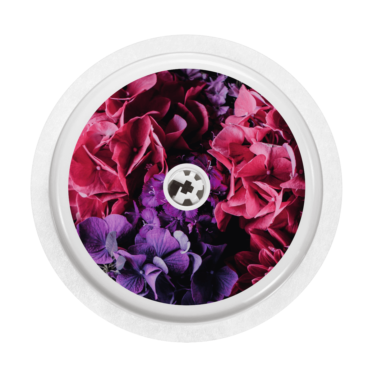 Image of Hydrangea Blossoms Freestyle Libre Sticker