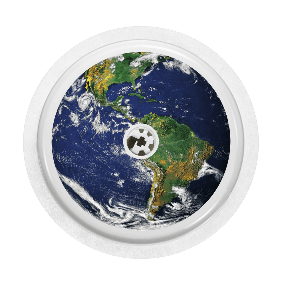 Image of Earth Freestyle Libre Sticker