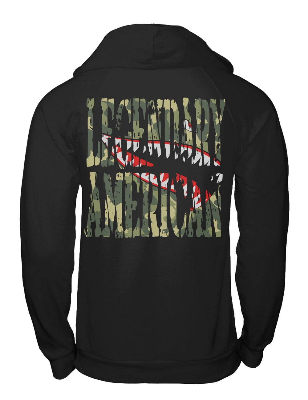 Image of Legendary American Flying Tiger pullover hoodie