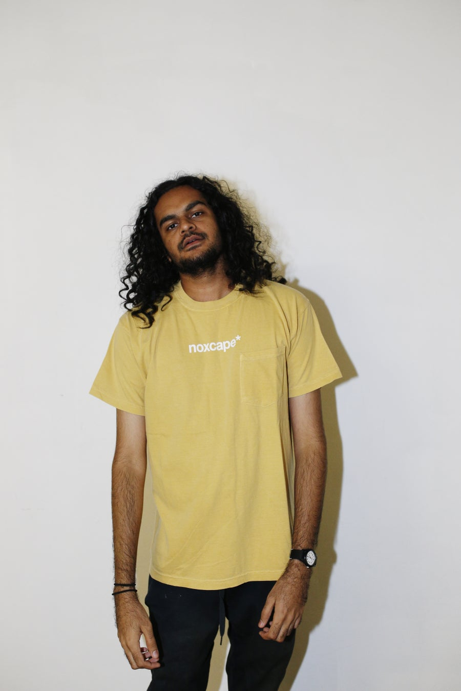 Image of Yellow Pocket T-shirt