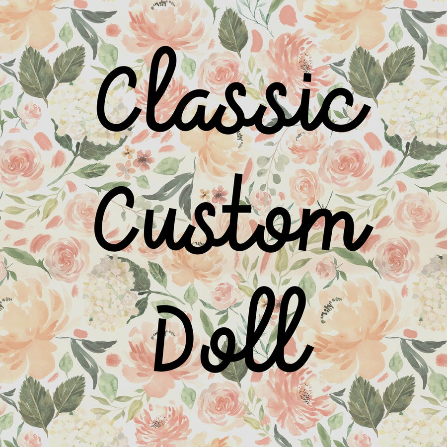Image of Classic Custom Doll