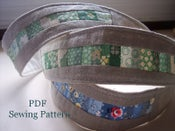 Image of Patchwork Headband PDF Pattern