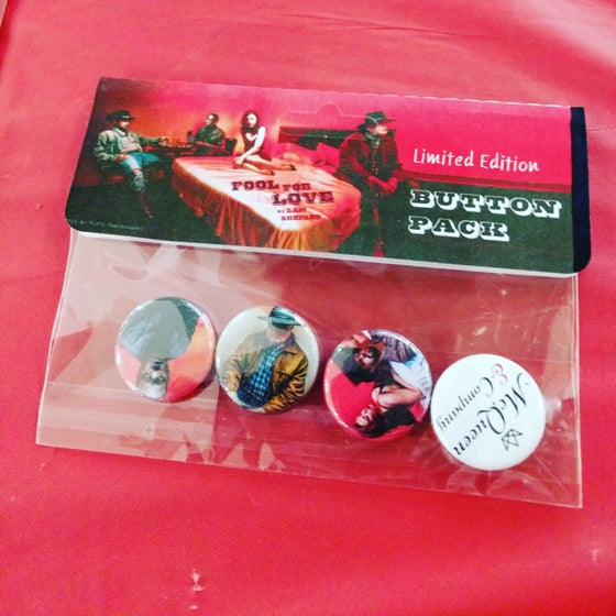 Image of Fool for Love Limited Edition Button Pack