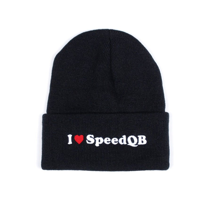 Image of I Love SpeedQB - Cuffed Beanie