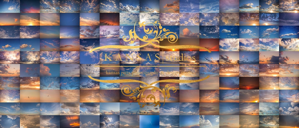 Image of Gold Kissed Skies Sky Overlays | Summer 2017 New Release