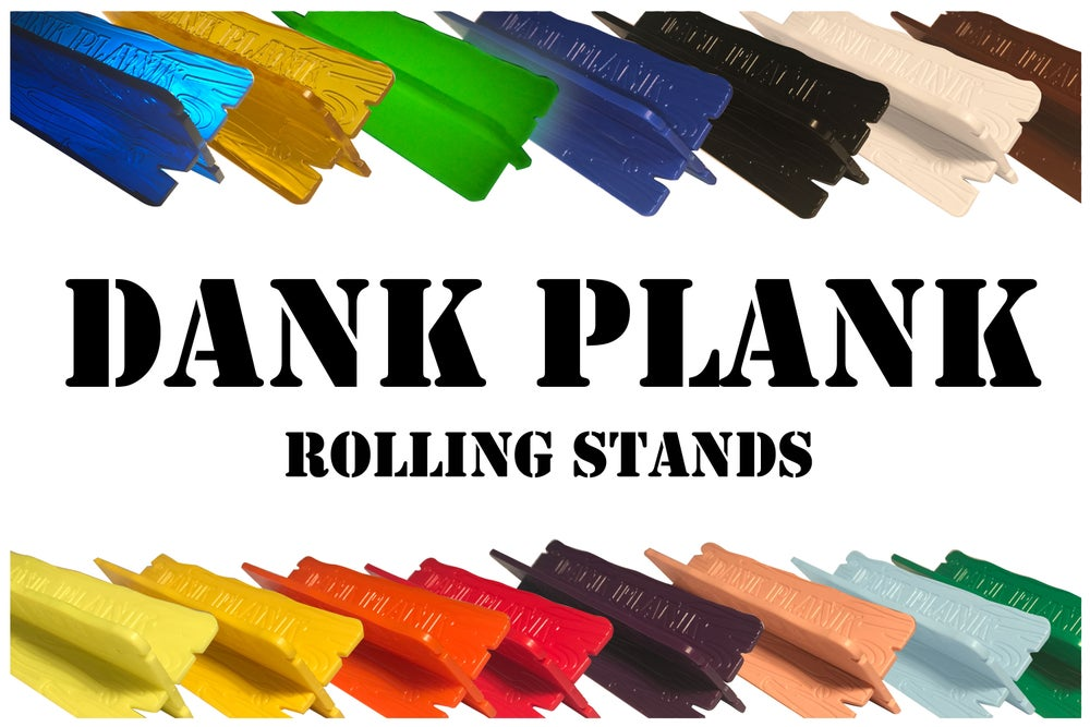 Image of DANK PLANK Rolling Stand set with Free Plink Pokey and Strap Band