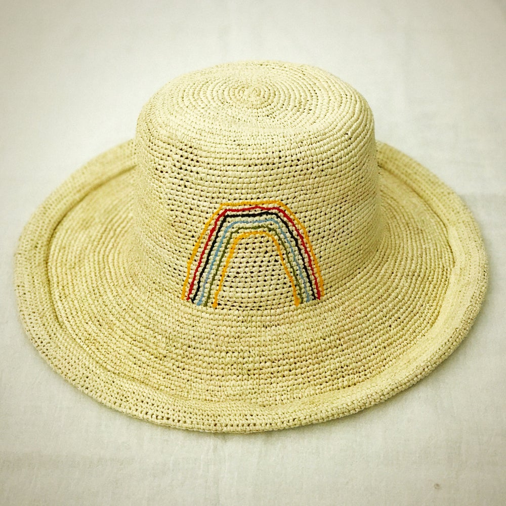 Image of Handwoven Straw Hats from Ecuador