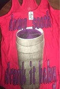 Image of Hot Pink Down South Drank It Baby Ladies Tank Top