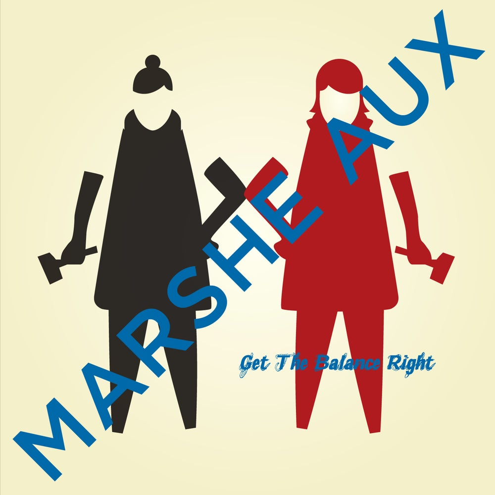 """Image of MARSHEAUX """"GET THE BALANCE RIGHT""""  CD EP"""