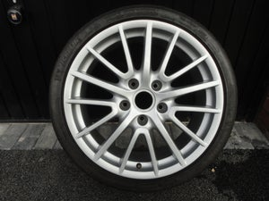 "Image of 1x Porsche BBS Sport Design Style Cayman 987 911 997 19"" 5x130 Front Alloy Wheel"