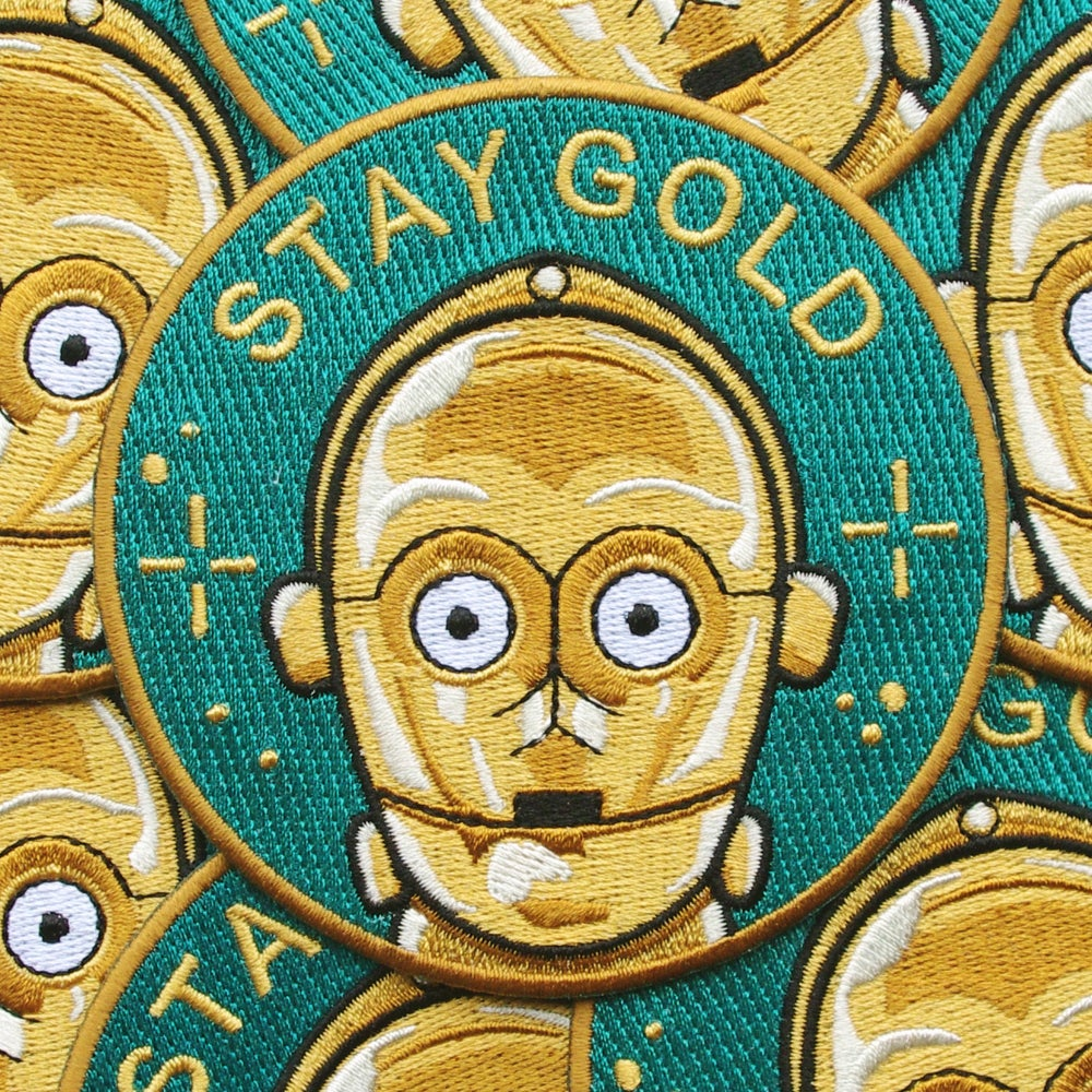 Image of Stay Gold Patch