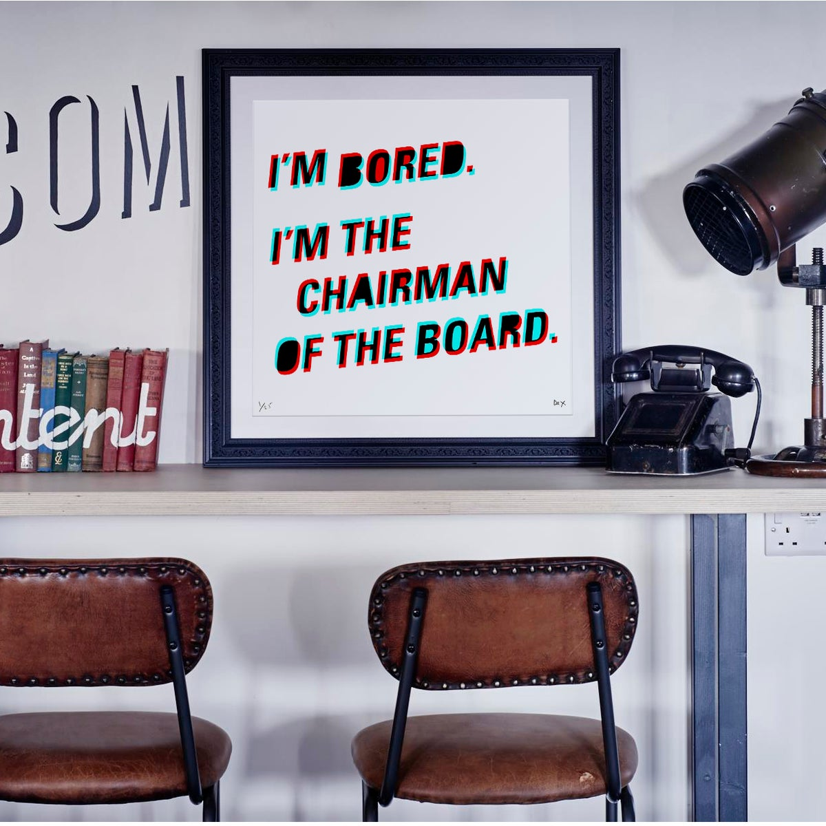 Image of Chairman Of The Bored (3D)