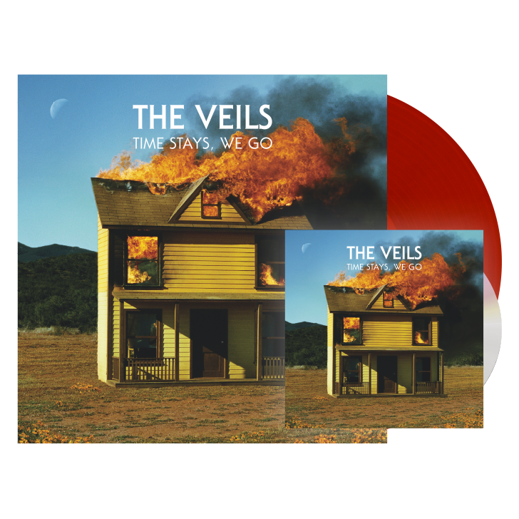 Image of TIME STAYS, WE GO RED VINYL + CD