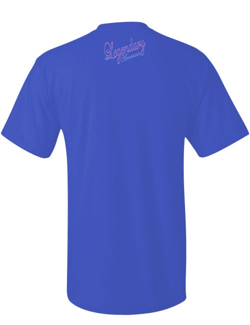 Image of Legendary American Traditional tee in blue