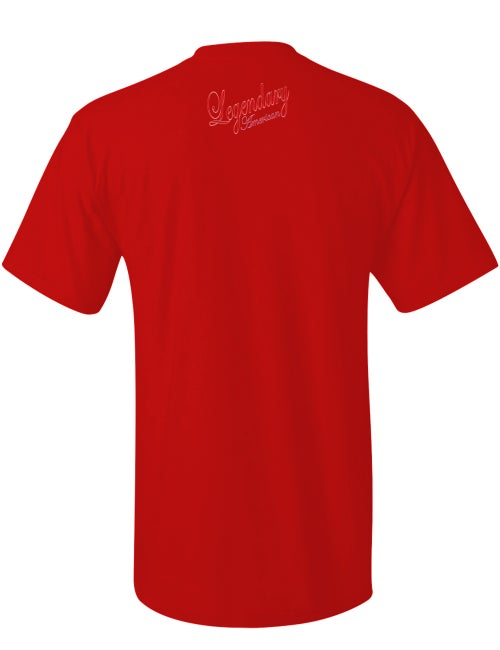 Image of Legendary American Script 2 tee red