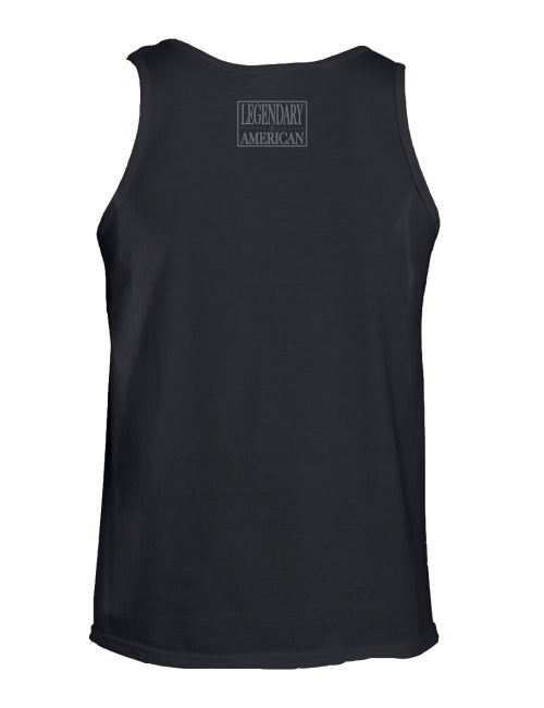 Image of Legendary American Patch Tank Top gray